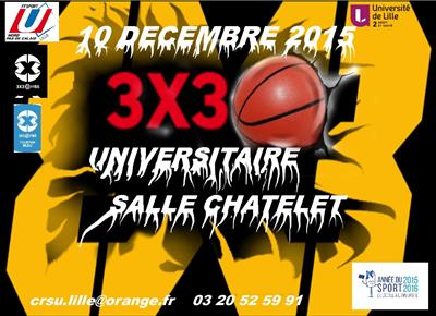 Tournoi Universitaire Salle Chatelet Lille